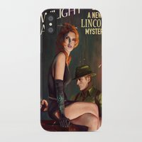 political iPhone & iPod Cases featuring Twilight Gal by Astor Alexander