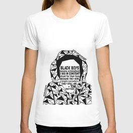 Trayvon Martin - Black Lives Matter - Series - Black Voices T-shirt