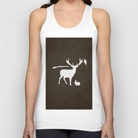 hunter Tank Tops featuring Hunter by Julia Brnv
