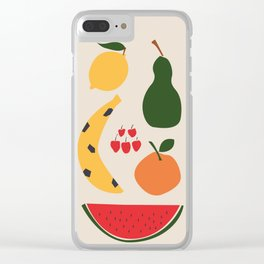 Taste of summer Clear iPhone Case