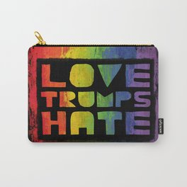 Gay Pride design- Vertical Carry-All Pouch