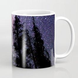 Celestial Starlight in the Forest Near  Lake Irene Colorado by OLena Art - brand Coffee Mug