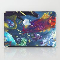 fight iPad Cases featuring Fight by paul drouin