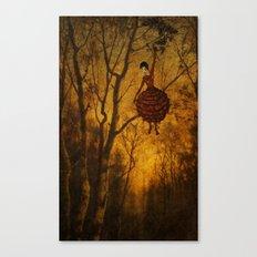 Pine Girl Canvas Print