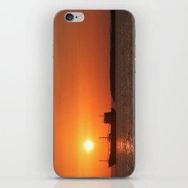 Sunset in Cuba iPhone Skin