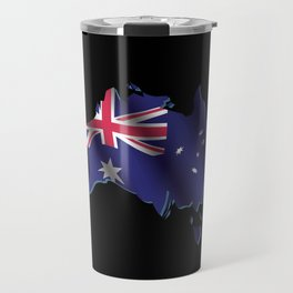 Australia Flag Travel Mug
