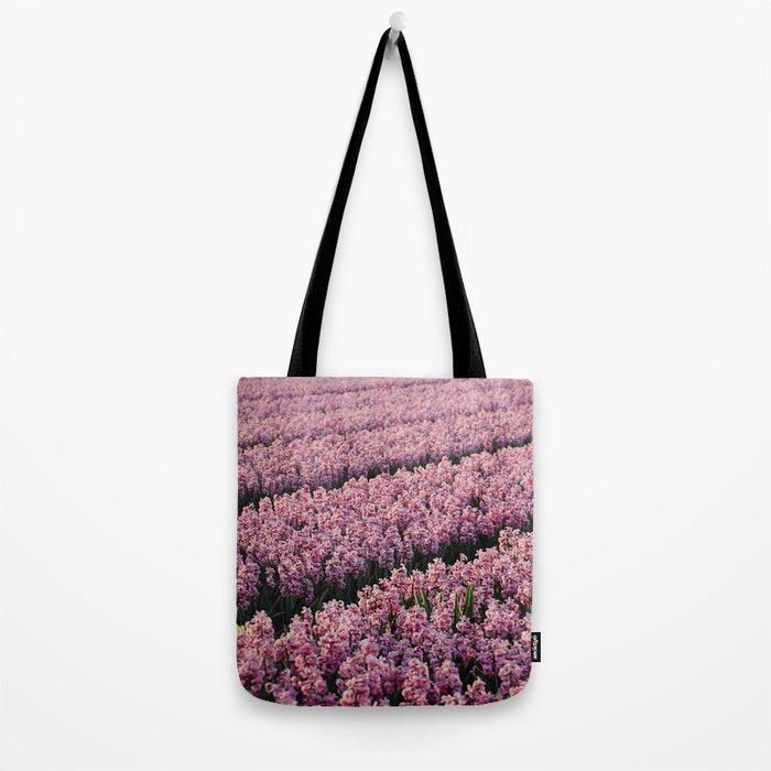Hyacinth field Tote Bag
