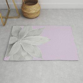 Lavender Fog Agave #1 #tropical #decor #art #society6 Rug
