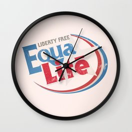 EquaLite [July 4th Edition] Wall Clock