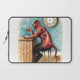 The Demon Drinks Laptop Sleeve
