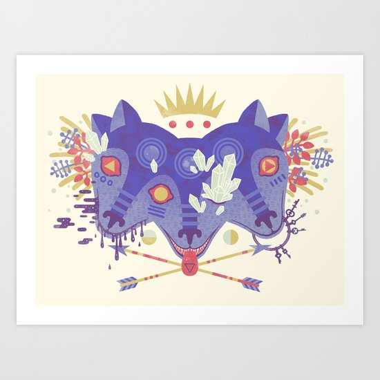 The Gatekeeper Art Print