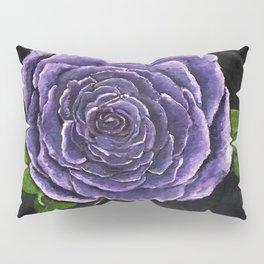 Purple Rose Pillow Sham