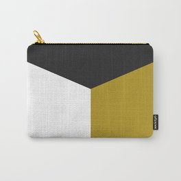 Blocked Olive Carry-All Pouch