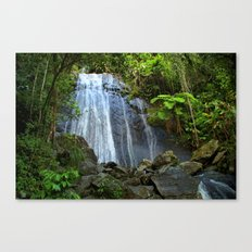 Yunque Waterfall Canvas Print