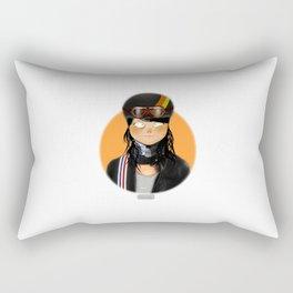 Badass Women - Wacky Races Rectangular Pillow