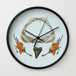 Shark 2  Wall Clock