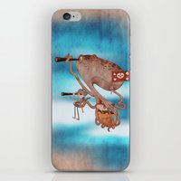 pirates iPhone & iPod Skins featuring Pirates by José Luis Guerrero