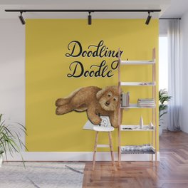 Doodling Doodle (Yellow) Wall Mural