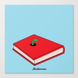 Bookworms Canvas Print