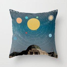Chicago: Adler Planetarium Throw Pillow