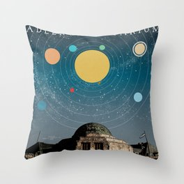 Chicago: Adler Planetarium Throw Pillow
