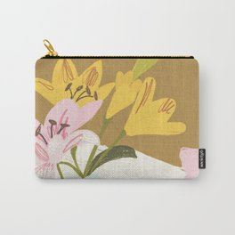 Lemons and Lilies Carry-All Pouch