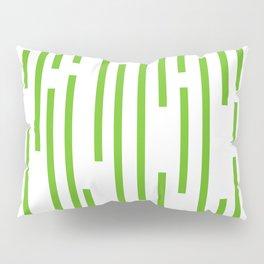 Minimalist Lines – Green Pillow Sham