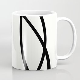 Community - Black and white abstract Coffee Mug