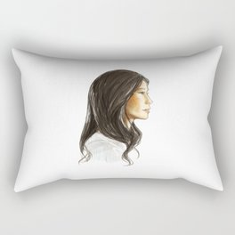 elementary: jw Rectangular Pillow