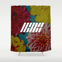 IKON floral Shower Curtain