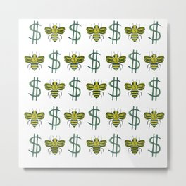 Money Honey Metal Print