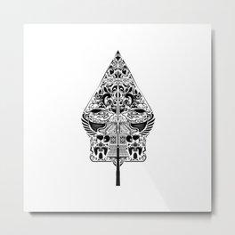 Gunungan Metal Print