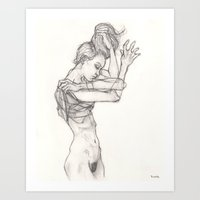 sketch Art Prints featuring Sketch by Dylan Chudzynski