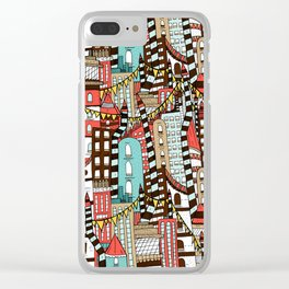The City of Towers Clear iPhone Case