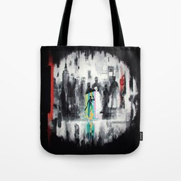 Shelter from the sorrow. Tote Bag