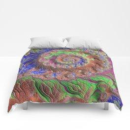 Summer Garden Fractal Art Comforters