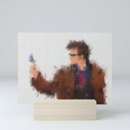 The Tenth Doctor Mini Art Print