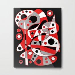 Abstract #961 Metal Print