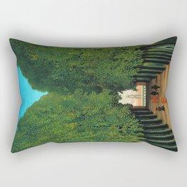 Henri Rousseau - Avenue in the Park at Saint Cloud Rectangular Pillow