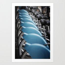 ... bikes ... Art Print