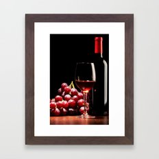 WINE 3 Framed Art Print