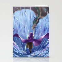 wizard Stationery Cards featuring Wizard by Shoko Lam