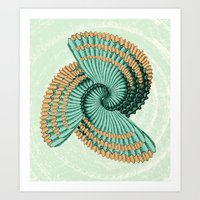 octopus Art Prints featuring Octopus  by DebS Digs Photo Art