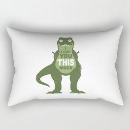 Amourosaurus Rectangular Pillow