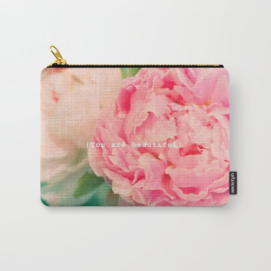 {You are beautiful} Carry-All Pouch