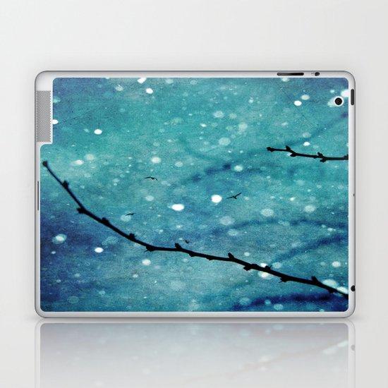Winter Snow Branches  Laptop & iPad Skin