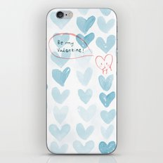 Be my Valentine. iPhone & iPod Skin