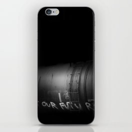 not our future iPhone Skin