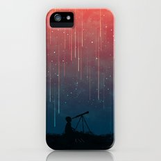 Meteor rain iPhone (5, 5s) Slim Case