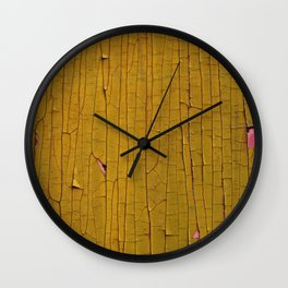 Crusty Stuff (~ Colours of Transience ~ ) IV Wall Clock